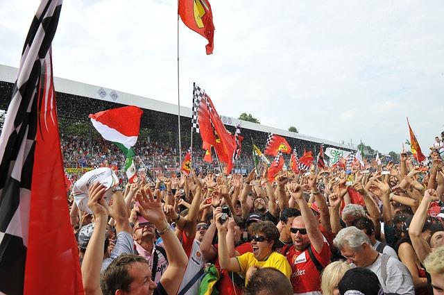 Formel 1 fans