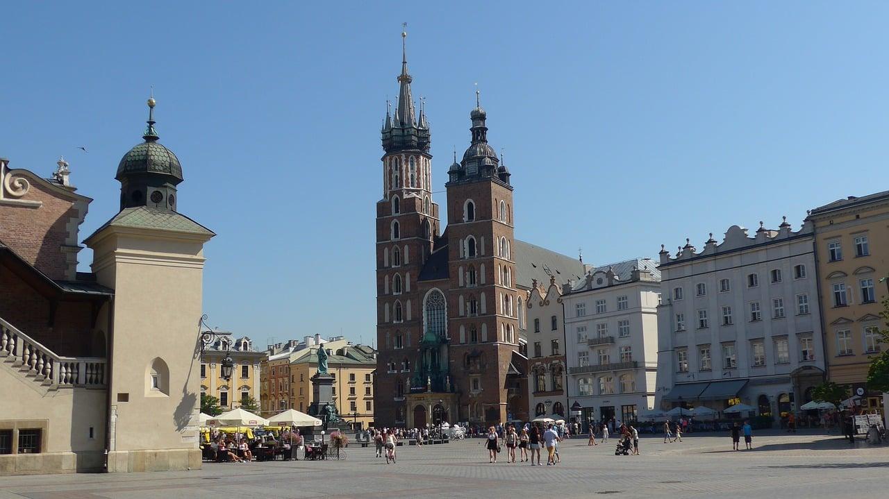 Kościół Mariacki krakow seværdigheder