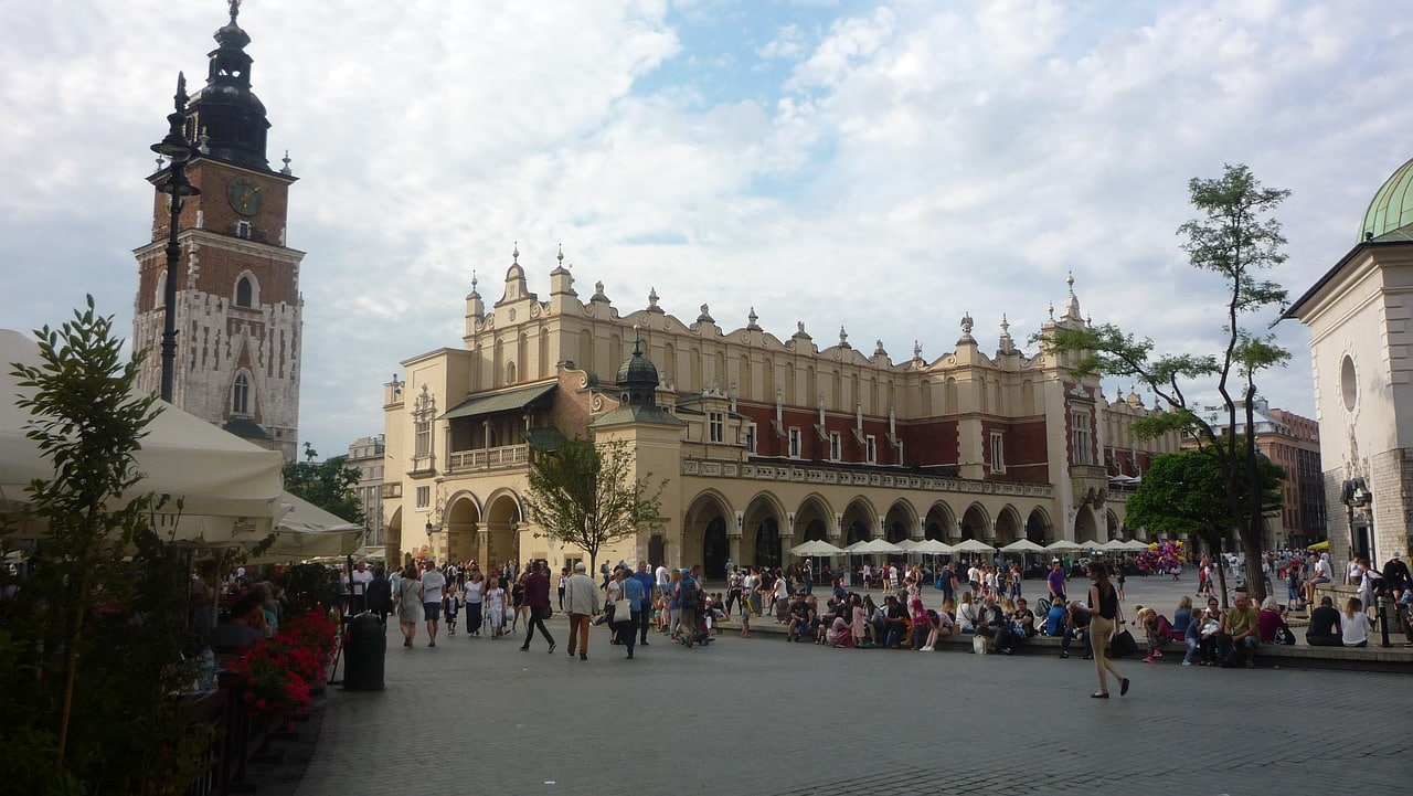 Rynek Glowny krakow seværdigheder